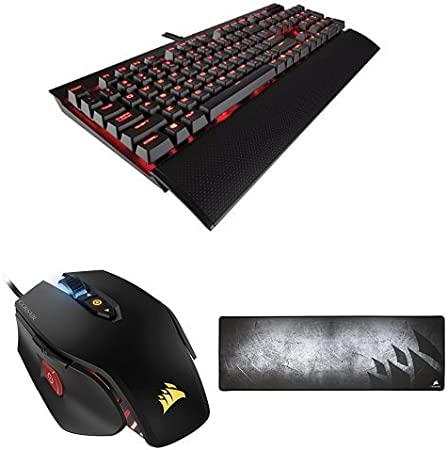 Corsair K70 Lux - Teclado gaming (USB, alámbrico, USB), negro ...