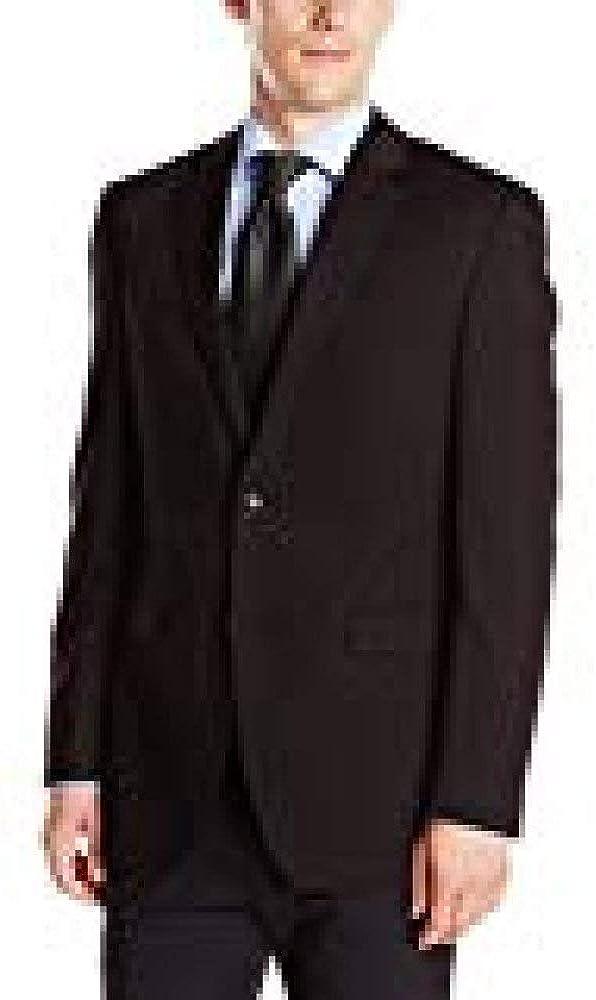Blazer /& Pant Perry Ellis Mens Slim Fit Suit Separate