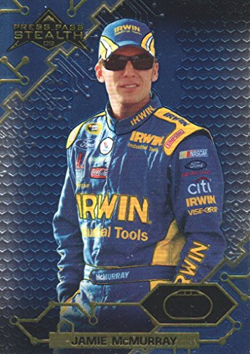 2009 Press Pass Stealth Chrome NASCAR Racing #22 Jamie McMurray
