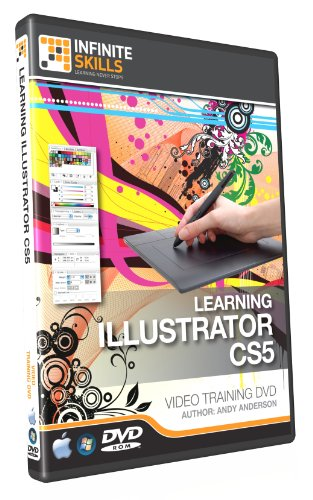 Adobe Illustrator CS5 Training DVD - Tutorial Video - Over 10 Hours of High Quality Video Based Training