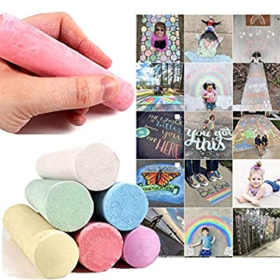 12PC Sidewalk Chalk Paint Brush Pen For Furniture, Chalkboard, Chalk Markers - Non-Toxic Colored Dustless Chalk 12 Ct Box - Ins/Face Book/Twitter/Tumblr Ssers Are Buying It!!!: Office Products