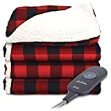 Best Electric Blankets - Sunbeam Electric Throw - Reversible Imperial Plush Review