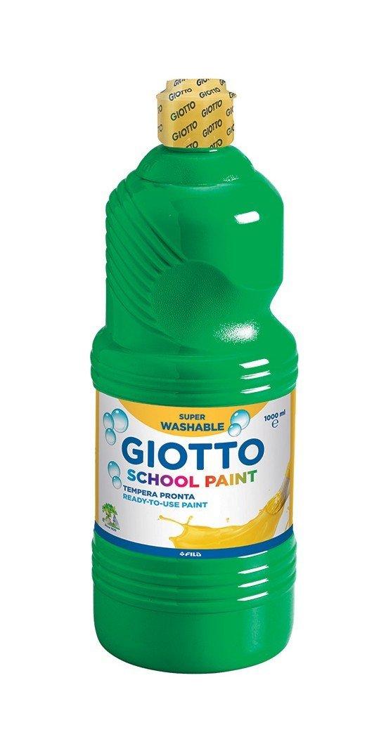 Farba Giotto School Paint Green 1 L Giocattolo Fila B00A26PW7S