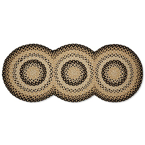 Cornbread Braided Runner Rug - 30