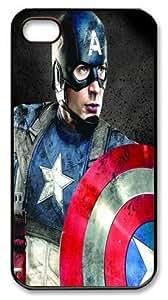 Captain America iPhone 4 4s Case, Case for iPhone 4 4s Black, Design Iphone 4 4s Case