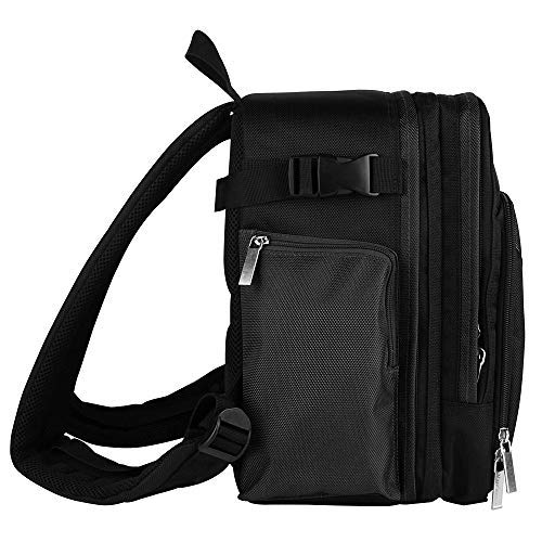 Travel Outdoor Water Resistant Backpack Bag for AKASO Insta360 FUJIFILM YI Mokacam Compact Camera