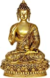 Lord Buddha - Brass Sculpture