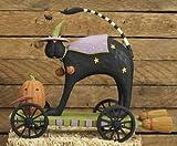 Williraye Halloween Figurines Scaredy Cat Pull Toy WW6110