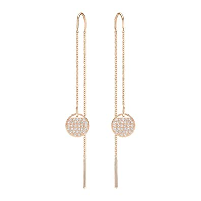 d07e06cf5 Image Unavailable. Image not available for. Color: Swarovski Ginger Rose  Gold-Plated Earrings