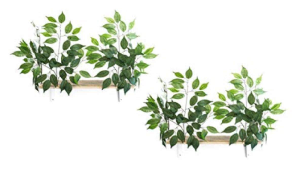 On2Pets Cat Furniture Canopy Shelves for Climbing, Playing & Relaxing, Set of 2 by On2Pets