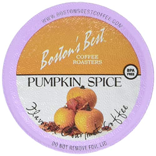 Boston's Best Single Serve K-Cup Coffee, Pumpkin Spice,12.6 oz, 42 Count (New England Pumpkin Spice)