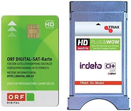 Triax CI + Irdeto ORF de módulo y tarjeta ORF HD (con meses ...