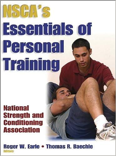 nsca s essentials of personal training 9780736000154 medicine