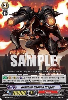 Cardfight!! Vanguard TCG - Graphite Cannon Dragon (PR/0071EN) - Cardfight! Vanguard Promos (Dragon Graphite)