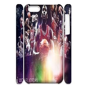 Fggcc Michael Jordan Case for 3D Iphone 5C,Michael Jordan Iphone 5C Cell Phone Case (pattern 7)