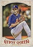 2016 Topps Gypsy Queen #63 Steven Matz New York Mets Baseball Card in Protective Screwdown Display Case
