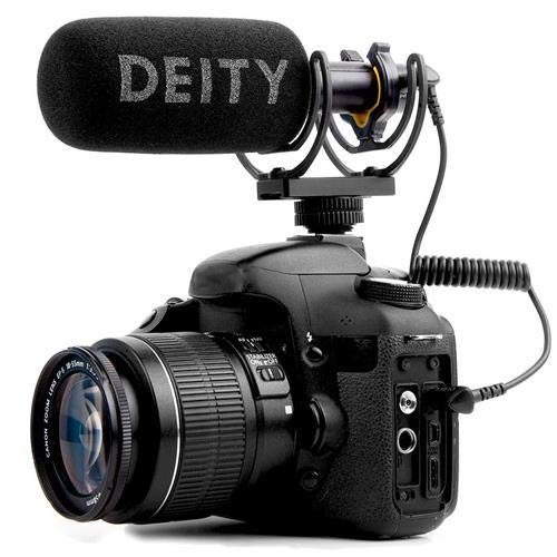 Deity Microphones V-Mic D3 Super Cardioid Directional Condenser Shotgun Microphone, 44dB to 23dB Sensitivity