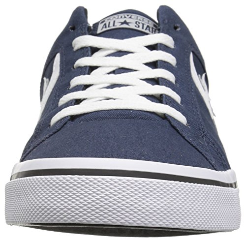Converse Heren El Distrito Canvas Low Top Sneaker Marine / Wit / Zwart