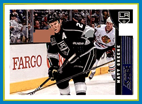 2013-14 Score #227 Matt Greene los angeles kings - 227 Matt