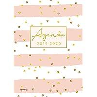 agenda 2019-2020 español: Organiza tu día - Agenda semanal 18 meses - Julio 2019 a Diciembre 2020