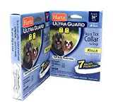 Pack of 2 Flea Collar for Large Dogs Water Resistant Tick Repellent 7 Months Protection