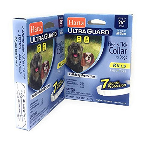 Pack of 2 Flea Collar for Large Dogs Water Resistant Tick Re