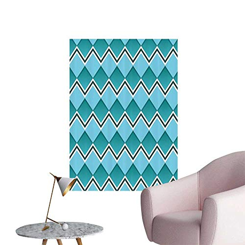 Wall Painting Herring Diamd Shapes Squares Chevr Lines Texture High-Definition Design,20