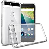 Nexus 6P Case, Spigen [Ultra Hybrid] AIR CUSHION [Crystal Clear] Clear back panel + TPU bumper for Nexus 6P (2015) - Crystal Clear (SGP11796)