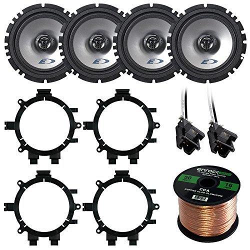 4 car door speakers - 8