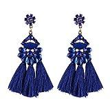 Best iVan Friend Bracelets For Kids - Bohemian Style Multi Color Fringed Wedding Tassel Dangle Review