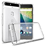 Spigen Ultra Hybrid Nexus 6P Case with Air Cushioned Drop Protection Clear Case for Google Huawei Nexus 6P 2015 - Crystal Clear