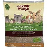 Living World 61294 Corn Cob Bedding, 8-Pound (500-Cubic Inch)