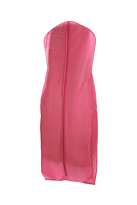 Bags for Less New X-large Breathable Pink Wedding Gown Garment Bag