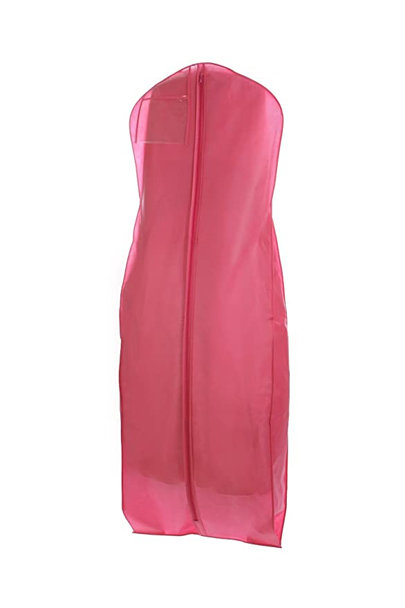 Bags for Less New X-large Breathable Pink Wedding Gown Garment Bag: Amazon.co.uk: Kitchen & Home