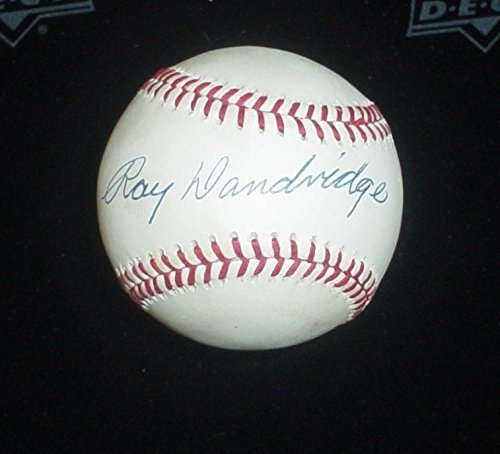 Ray Dandridge Autographed Baseball - Negro League Official AL Cert - Tristar Productions Certified - Autographed Baseballs