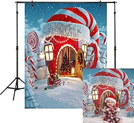 Amazon Com Funnytree 5x7ft Soft Fabric Christmas Candy Cup