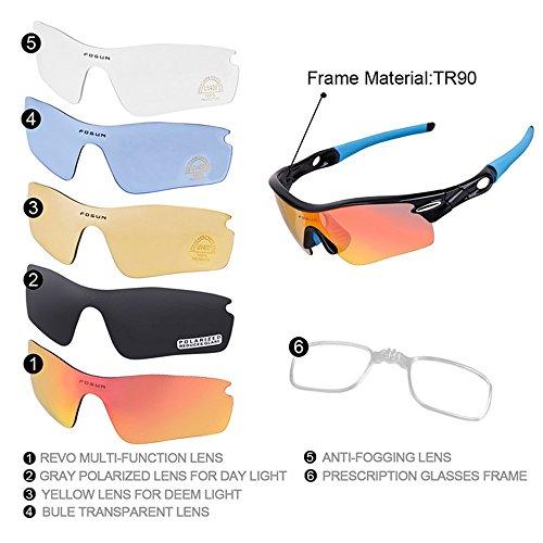 Sol Libre Gray Gafas Gafas Equitación Polarización Hombre Bicicleta De De De para De Gafas de Al Color Gafas Negro para Sol Protegerse LBY Aire Escalada Sol De del Gafas p8wZqp