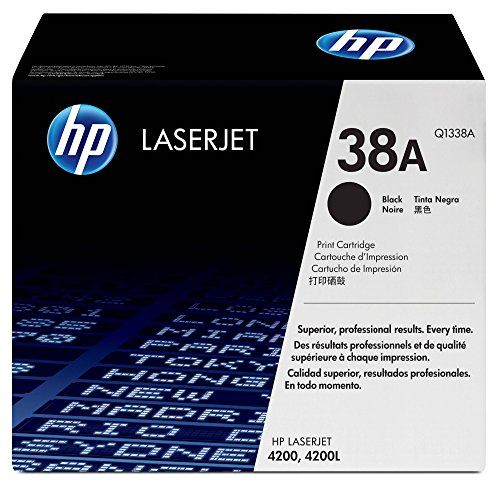 HP 38A (Q1338A) Black Toner Cartridge for HP Color LaserJet 4200 ()