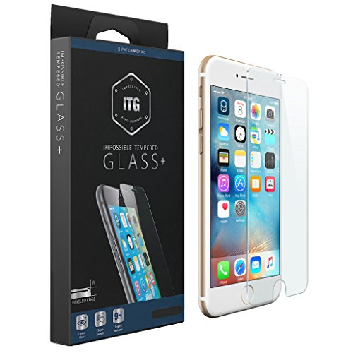 Patchwork Glass (Patchworks ITG PLUS Impossible Tempered Glass Screen Protector for for Apple iPhone 6s / 6)