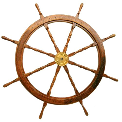 Ship Wheel-24 inches by OM001