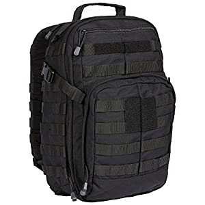 5.11 RUSH12 Tactical Backpack, Small, Style 56892, Black