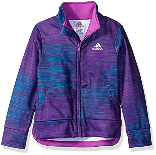 Price comparison product image adidas Little Girls' Toddler Track Jacket, Speed Heather Print, 3T