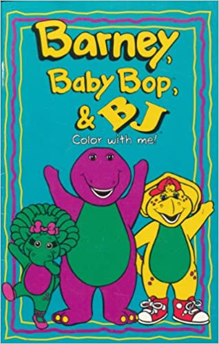 barney baby bop bj color with me mary ann dudko patricia williams ben franklin mary jennings amazoncom books - Barney Coloring Book