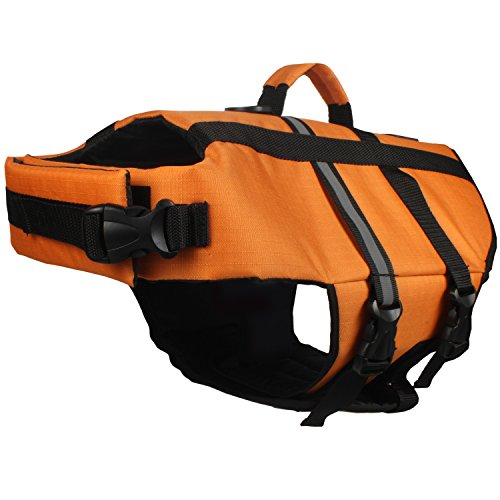 American Kennel Club Premium Quality Pet Flotation Life Vest - Orange XS