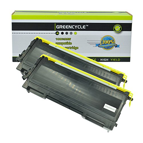 GREENCYCLE 2 Pack TN350 TN-350 Black Toner Cartridge for use with Brother HL-2040, HL-2070N, FAX-2820, FAX-2920 Printers Brother Hl 2040 Printer