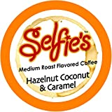 Selfie's Singles Hazelnut Coconut and Caramel K Cups, 24 Count