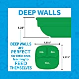 RE-PLAY Made in USA 3pk of Deep Divided Plates in