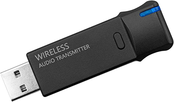 Golvery Plug and Play transmisor de Audio inalámbrico, Bluetooth 5,0 Adaptador de dongle USB con Antena Externa para TV de Audio/Reproductor de CD, PC ...