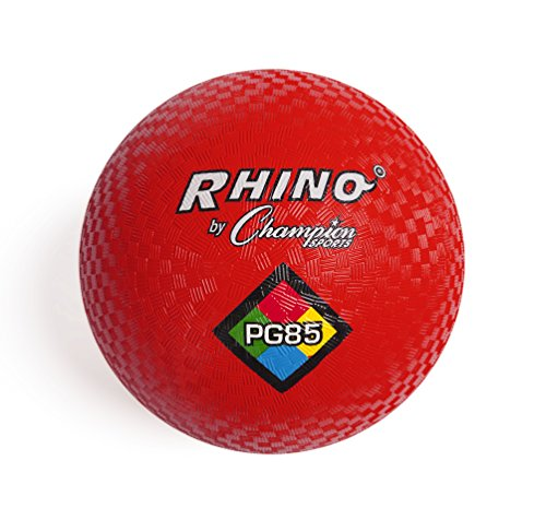 Champion Sports Playground Ball (Red, 8.5-Inch)]()