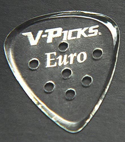 V-Picks Euro 3-Pack w/ Bonus Rock Island Sound Plectrum for sale  Delivered anywhere in Canada